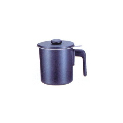 オイルポット ブラックフィギア(シルバーストーン加工) 1.2L