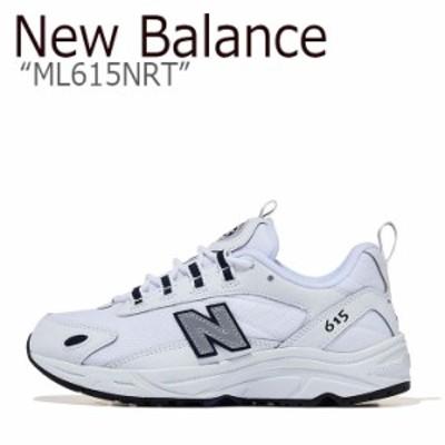 ニューバランス 615 スニーカー New Balance メンズ レディース ML 615 NRT New Balance615 WHITE ホワイト ML615NRT シューズ