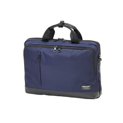 【カバンのセレクション】 バーマス バイアスライト 3WAY ビジネスバッグ リュック メンズ 薄型 軽量 A4 B4 BERMAS 60358 ユニセックス ネイビー フリー Bag&Luggage SELECTION
