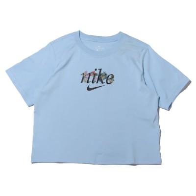 ナイキ NIKE 半袖Tシャツ ウィメンズ NSW ボクシー ネイチャー S/S Tシャツ (PSYCHIC BLUE) 21SU-I