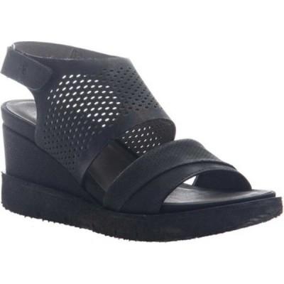オーティービーティー サンダル シューズ レディース Milky Way Heeled Sandal (Women's) Black Leather