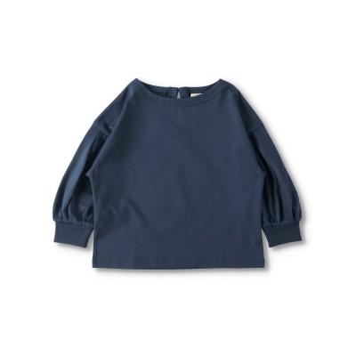 【branshes】ボリューム8分袖Tシャツ