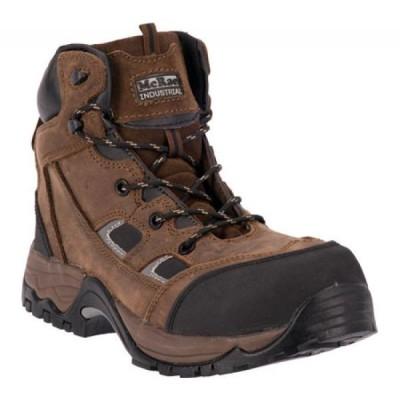 マクレー インダストリアル McRae Industrial メンズ ブーツ レースアップ シューズ・靴 6' Composite Toe Lace Up MR83324 Brown Crazy Horse Leather