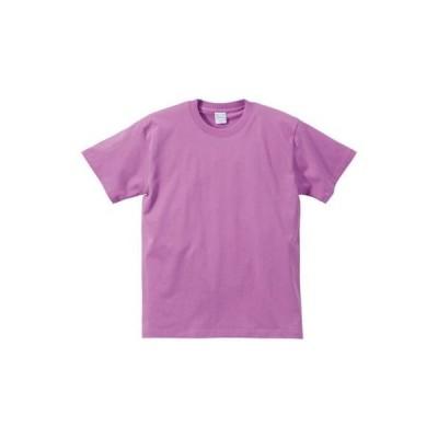 (ユナイテッドアスレ)UnitedAthle 5.6オンス ハイクオリティー Tシャツ 500101 076 ラベンダー XL