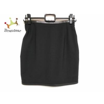 ディースクエアード DSQUARED2 スカート サイズ40 M レディース 美品 黒 リボン 新着 20200603