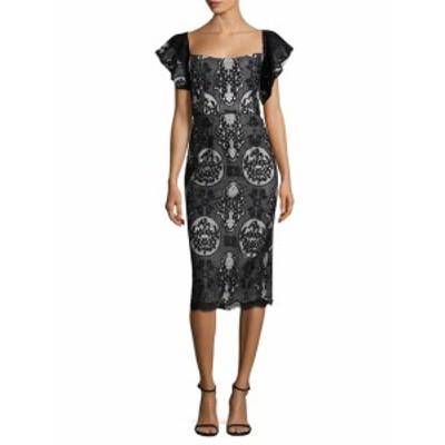 メスティーザ レディース ワンピース Hawley Ruffled Midi Dress