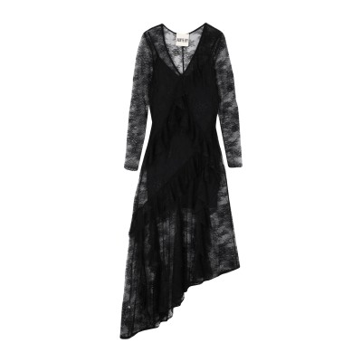 アニヤバイ ANIYE BY 7分丈ワンピース・ドレス ブラック S ナイロン 100% 7分丈ワンピース・ドレス
