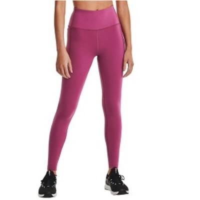 アンダーアーマー レディース カジュアルパンツ ボトムス Meridian Leggings Pink Quartz/Metallic Silver