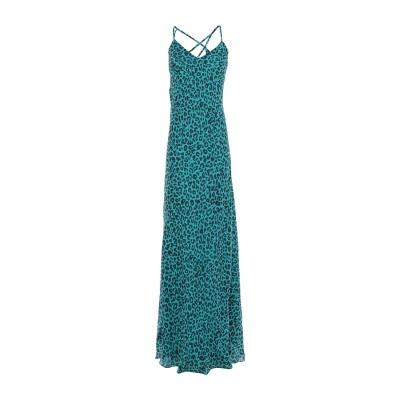 MICHELLE MASON ロングワンピース&ドレス ディープジェード 4 シルク 100% ロングワンピース&ドレス
