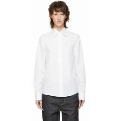マルニ ブラウス・シャツ White Bunny Patch Shirt