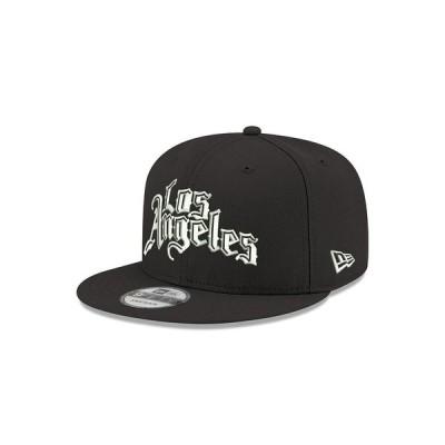 ニューエラ 帽子 アクセサリー レディース Los Angeles Clippers Series Custom 9FIFTY Cap Black/White