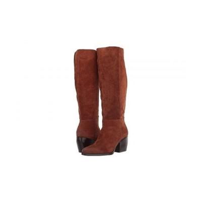 Naturalizer ナチュラライザー レディース 女性用 シューズ 靴 ブーツ ロングブーツ Fae - Saddle Tan Oil Suede