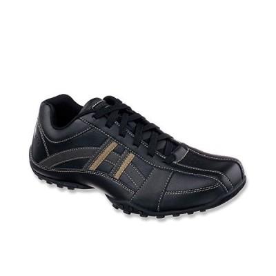 Skechers USA メンズ Citywalk Malton オックスフォード, ブラック, 10.5 M US(海外取寄せ品)