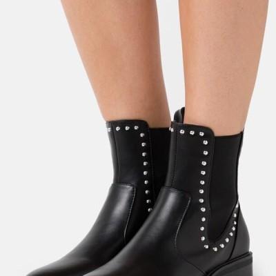 レディース 靴 シューズ WIDE FIT BLANCA - Classic ankle boots - black