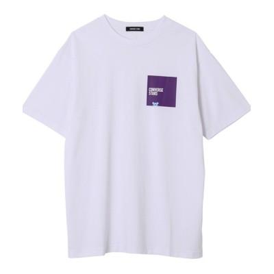 CONVERSE STARS / 【CONVERSE STARS×BT21】ボックスロゴTシャツ WOMEN トップス > Tシャツ/カットソー