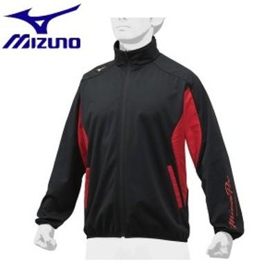 ◆◆ <ミズノ> MIZUNO 【ミズノプロ】テックシールドシャツ[ユニセックス] 12JE8W02 (09:ブラック×レッド)