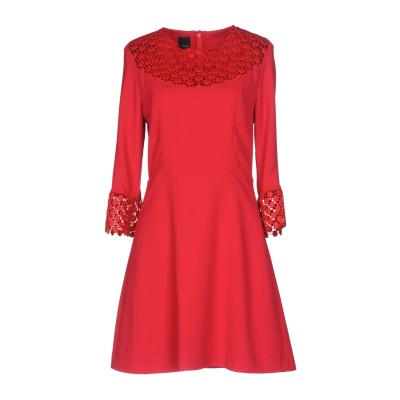 ピンコ PINKO ミニワンピース&ドレス レッド 42 100% ポリエステル ミニワンピース&ドレス