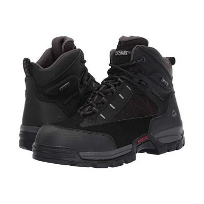 """ウルヴァリン Amphibian 6"""""""" Amphibian Composite Toe EH WP Boot メンズ ブーツ Black"""