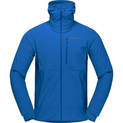 ノローナ ジャケット&ブルゾン メンズ アウター Lofoten Hiloflex200 Hooded Jacket - Men's Olympian Blue