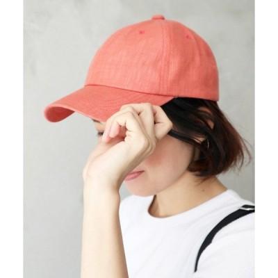 帽子 キャップ :フレンチリネンキャップ / CAP