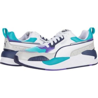 プーマ PUMA メンズ スニーカー シューズ・靴 X-Ray 2 Square Puma White/Viridian Green/Gray Violet/Peacoat