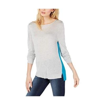 並行輸入品INC International Concepts レディース ツートンカラーブロックセーター US サイズ: Large カラー: グレ