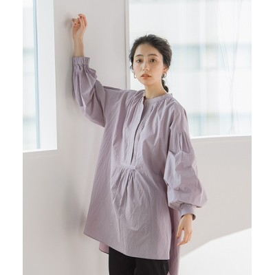 Droite lautreamont / 【WEB limited】ピンタックドレスシャツ WOMEN トップス > シャツ/ブラウス
