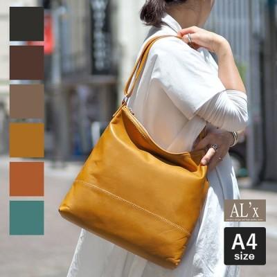 1年保証 アレックス 2way ショルダーバッグ レザー レディース AL'X D-3050