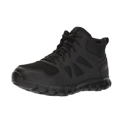 リーボック Men's Sublite Cushion Tactical RB8405 Military & Tactical Boot, Black