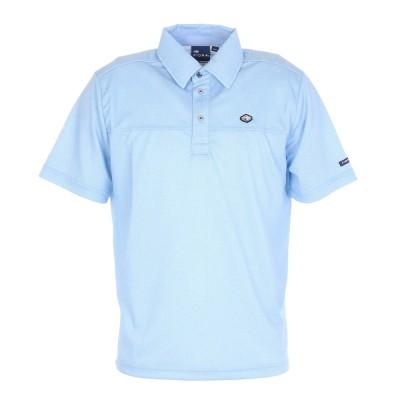 フィドラシャツゴルフ ポロシャツ Lightest ベーシック半袖ポロシャツ FD5KTG28 SAXサックス
