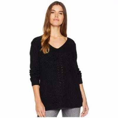 ビービーダコタ ニット・セーター Bedroom Dancing Lace Back Sweater Black