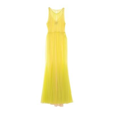 SE-TA Rosy Iacovone ロングワンピース&ドレス ビタミングリーン 38 ナイロン 100% ロングワンピース&ドレス