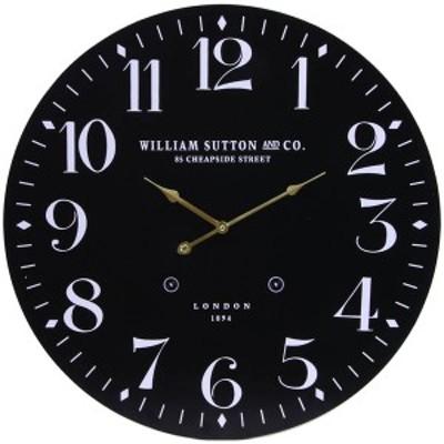 不二貿易 掛け時計LONDON 1894(ブラック) 72718[72718]【返品種別A】
