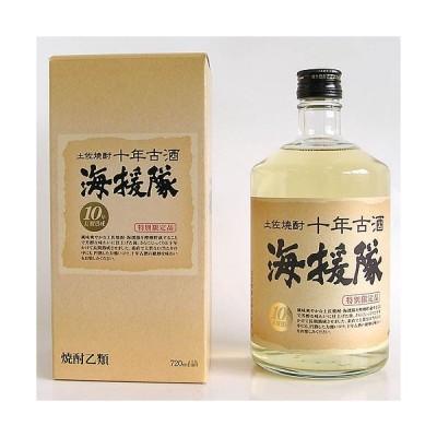 米焼酎 高知 土佐鶴酒造 海援隊 十年古酒25°720ml  箱入 竜馬 龍馬