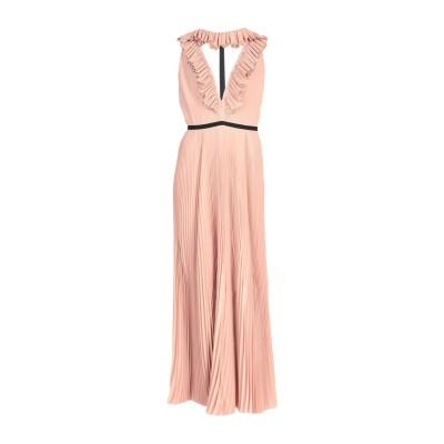 ロシャス ROCHAS ロングワンピース&ドレス ローズピンク 44 シルク 100% ロングワンピース&ドレス