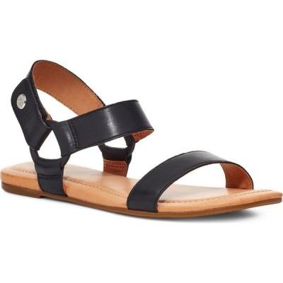 アグ UGG レディース サンダル・ミュール シューズ・靴 Rynell Sandal Black Leather