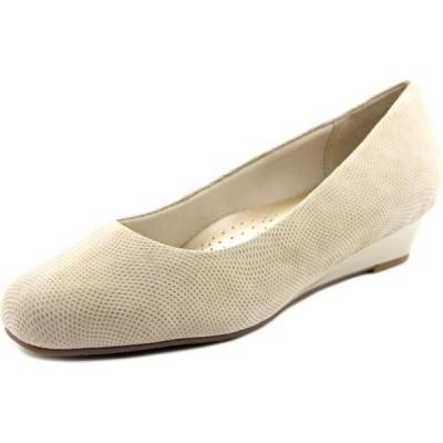 ユニセックス 靴 ヒール パンプス Lauren N/S Open Toe Leather Wedge Heel