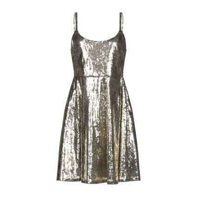 ブルーガール ブルマリン BLUGIRL BLUMARINE ミニワンピース&ドレス ゴールド 42 ポリエステル 100% ミニワンピース&ドレス
