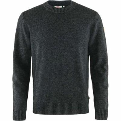 フェールラーベン Fjallraven メンズ ニット・セーター トップス Ovik Round Neck Sweater Dark Grey