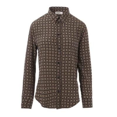 セリーヌ CELINE シルクシャツ 大きいサイズあり ブラック レディース 2c008-257l-38no