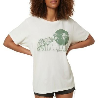 オニール シャツ トップス レディース O'NEILL Women's Tsunami T-Shirt Naked