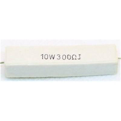 セメント抵抗 10w300Ω 1本