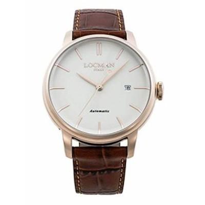 ロックマン LOCMAN 腕時計 0255R05R-RRAVRGPN 1960 AUTOMATIC レザーベルト(中古品)
