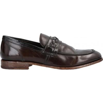 モマ MOMA メンズ ローファー シューズ・靴 loafers Dark brown