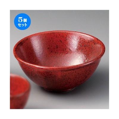 5個セット ☆ 丼 ☆ 赤結晶マグマ6.5丼 [ 200 x 85mm ] 【料亭 居酒屋 和食器 飲食店 業務用 】