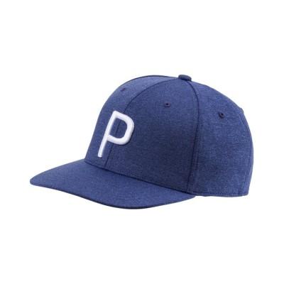 (PUMA/プーマ)ゴルフ Pマークスナップバックキャップ/メンズ PEACOATHEATHER