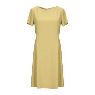ANTONELLI ミニワンピース&ドレス オークル 38 レーヨン 70% / アセテート 26% / ポリウレタン 4% ミニワンピース&ドレス