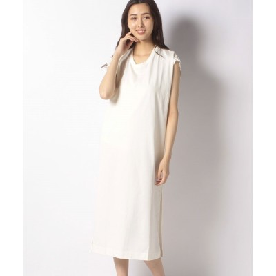 【ジャーナルスタンダード アウトレット】 UHR Back Tie Dress レディース ホワイト フリー JOURNAL STANDARD OUTLET