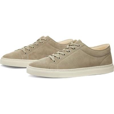 ETQ ETQ. Amsterdam メンズ スニーカー ローカット シューズ・靴 ETQ. Premium Suede Low Top 1 Sneaker Ash