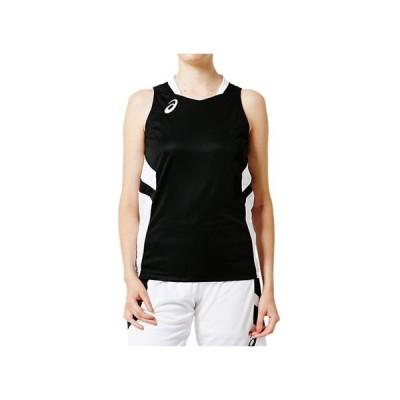 W'Sゲームシャツ (パフォーマンスブラック) ASICS アシックス (2062A016)